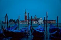 Gondolas of Venice by Andrew Hartl
