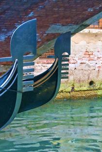 Gondolas in Venice by Andrew Hartl