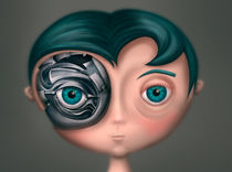 Boy Portrait by Renato Klieger Gennari