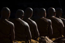 Monks  by Putu Sayoga