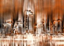 Frankfurt Skyline von Städtecollagen Lehmann