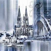 Köln Skyline Collage von Städtecollagen Lehmann