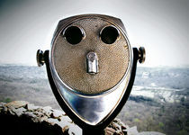 Binoculars by Melanie Mayne