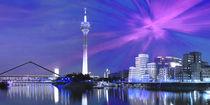 Düsseldorf Skyline von Städtecollagen Lehmann