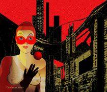 Black city darkness by Irmgard Schöndorf Welch