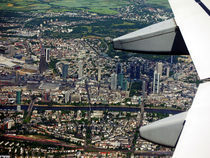 Luftaufnahe Frankfurt City von Thomas Brandt
