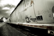 Train Car by J Nathaniel Dicke