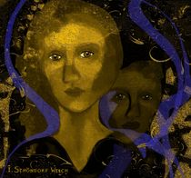 Two women Sepia by Irmgard Schöndorf Welch