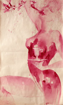 "selfportrait ""SHIPS"" von Lena Saprykina"