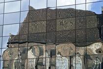 Reflection of gothic church by michal gabriel