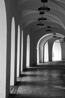 Archway corridor by michal gabriel