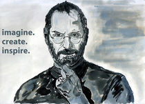 Steve Jobs - Poster by Hassaam Ali
