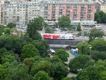Double-decker train von Michel Petkovic