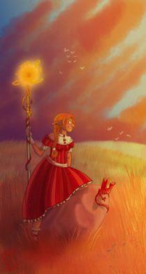 Magic sunset von Natalia Komuniewska
