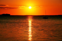 Quarter to Sunset von Christopher Gull