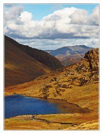 Lake District Set 1 - Borrowdale & Seathwaite LD1-43 von Chris Atkinson