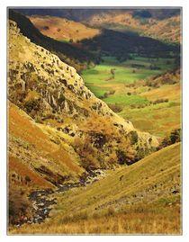 Lake District Set 1 - Borrowdale & Seathwaite LD1-51 von Chris Atkinson