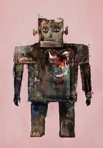 robot with heart by jun