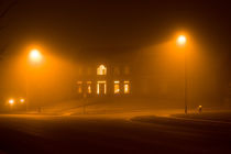 Night fog under the street lights von Irina Moskalev