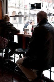 waiting at the bar by Marga Fonts