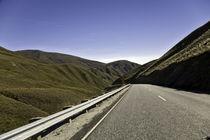 Higway in the mountains von michal gabriel