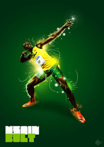 Usain Bolt by Callum Bates