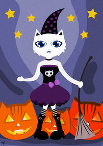 Happy CAT Halloween by Nimas Arum