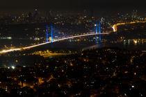 Istanbul Bosphorus Bridg von Evren Kalinbacak