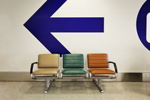 Airport Chairs von Jeff Seltzer