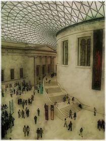 British Museum interior 1b by Chris Atkinson
