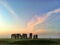 Stonehenge at dawn by Jamie Hunter