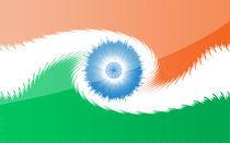 Indian Flag von Priyank Rathod