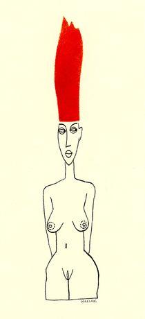 Feuerrotes Haar von Arnulf Kossak