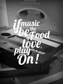 If Music Be The Food Of Love by Julien LAGARDÈRE