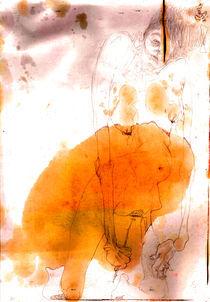 Rose - poster girl von Kamila Galecka