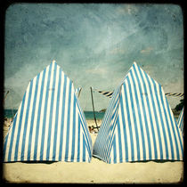 Les cabines de plage by Marc Loret