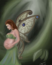 Expectant Fairy by Stacy Parker