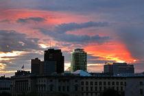 Der Himmel über Berlin - Potsdamer Platz von captainsilva