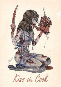 Zombie Pinup: Kiss the Cook von Thomas Green