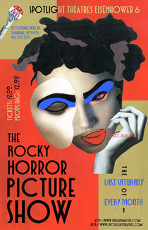 The Rocky Horror Poster Picture Show Poster by Chase Baltz