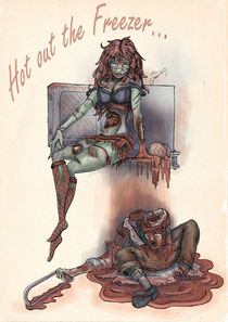 Zombie Pinup: Hot and Cold von Thomas Green