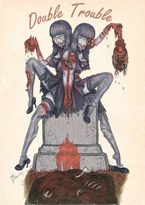 Zombie Pinup: Double Trouble von Thomas Green