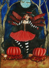 Halloween Night by Danielle Robichaud