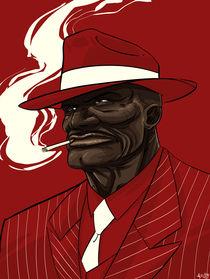 Red Blues by João Carlos Vieira