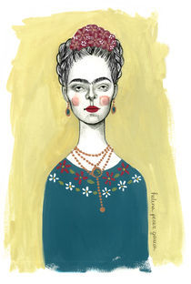Frida kahlo von Helena Perez Garcia