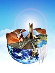 Globe Tourism in Algeria von Ayoub AYDI