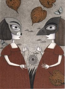 Ana and Eva (An All Hallows' Eve Tale)  by Judith  Clay