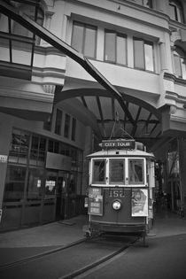 old tram by michal gabriel