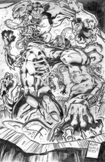 Venom-the-madness-pencils