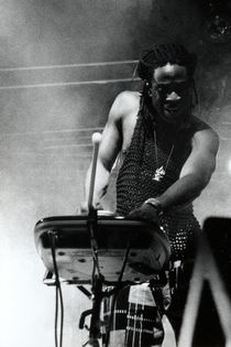'Will Calhoun - ROMA (ITALY) in 1998' by Nathalie Matteucci